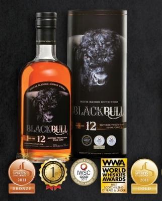 Whisky Black Bull 12 ans